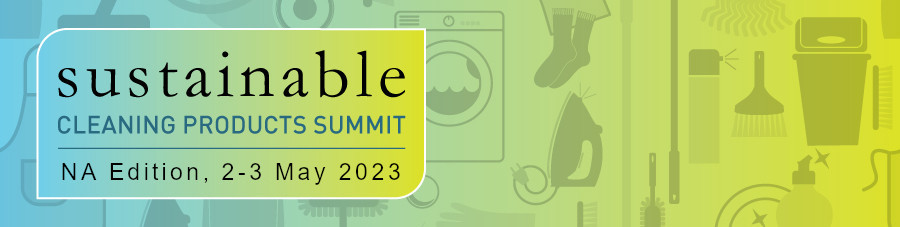 Sustainable Cleaning Summit header and logo